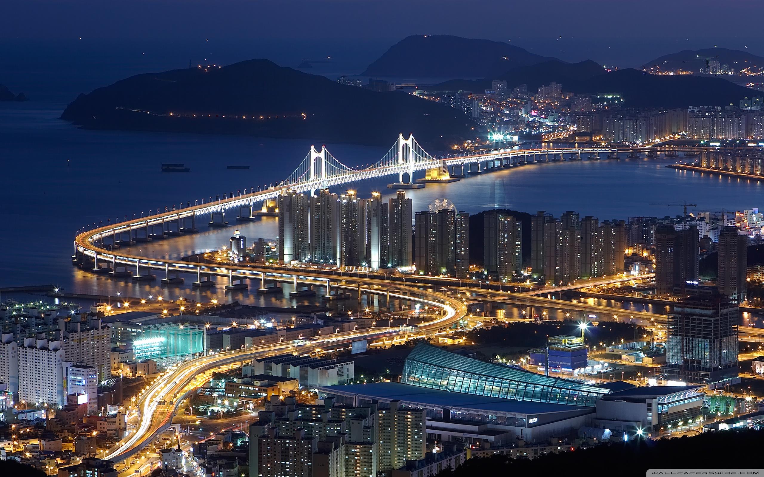 Gwangan bridge busan South Korea