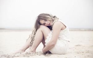 Beach-mood-girl-look-lovely-white-dress-hd-wallpaper