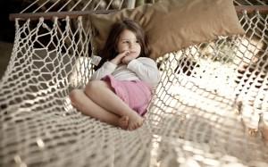 girl children mood summer
