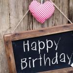 happy birthday heart love