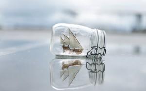jar ship beach mood