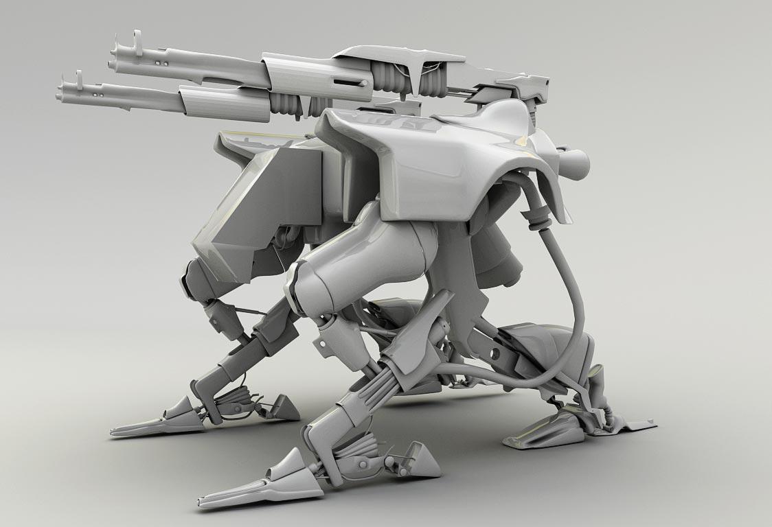 robot tower