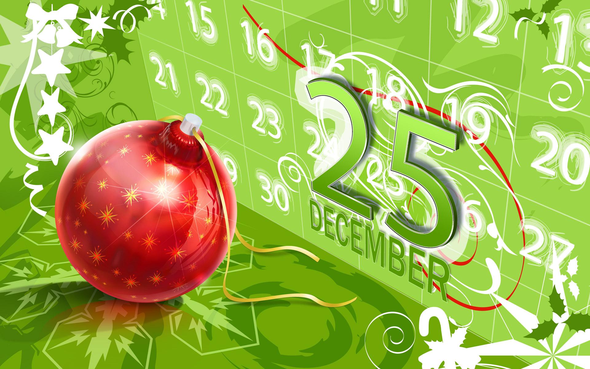 25 December Christmas