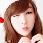 Asian Cute Girls Christmas