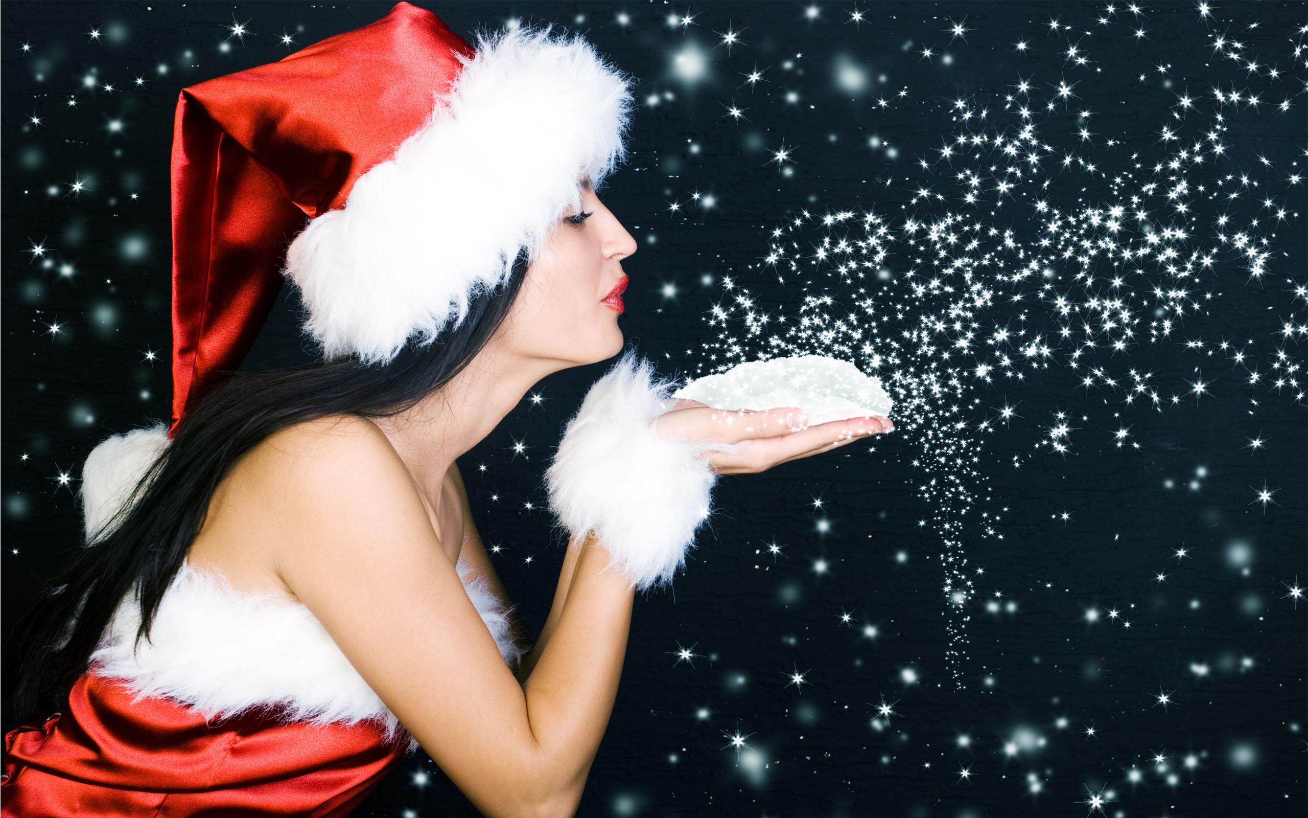 Beautiful Christmas Sanata Babe