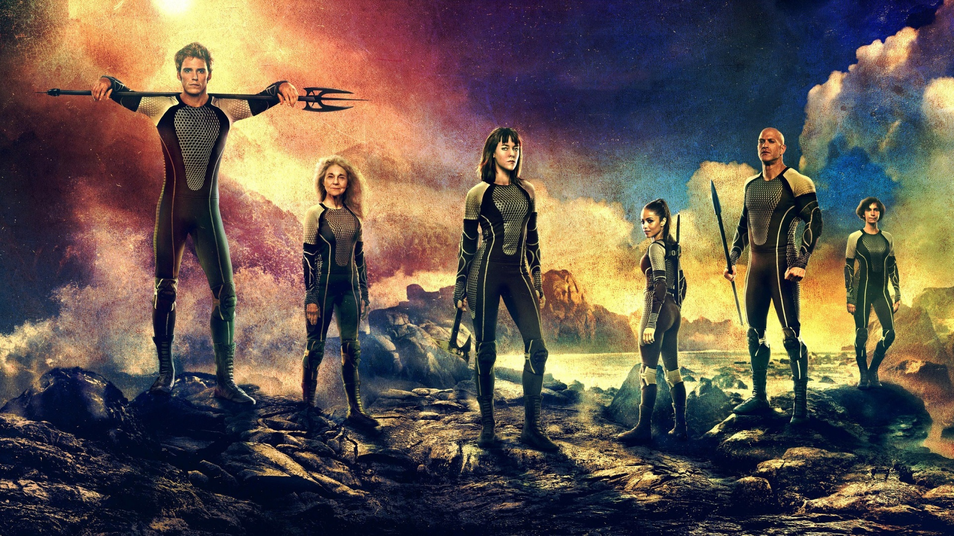 Catching Fire (2)