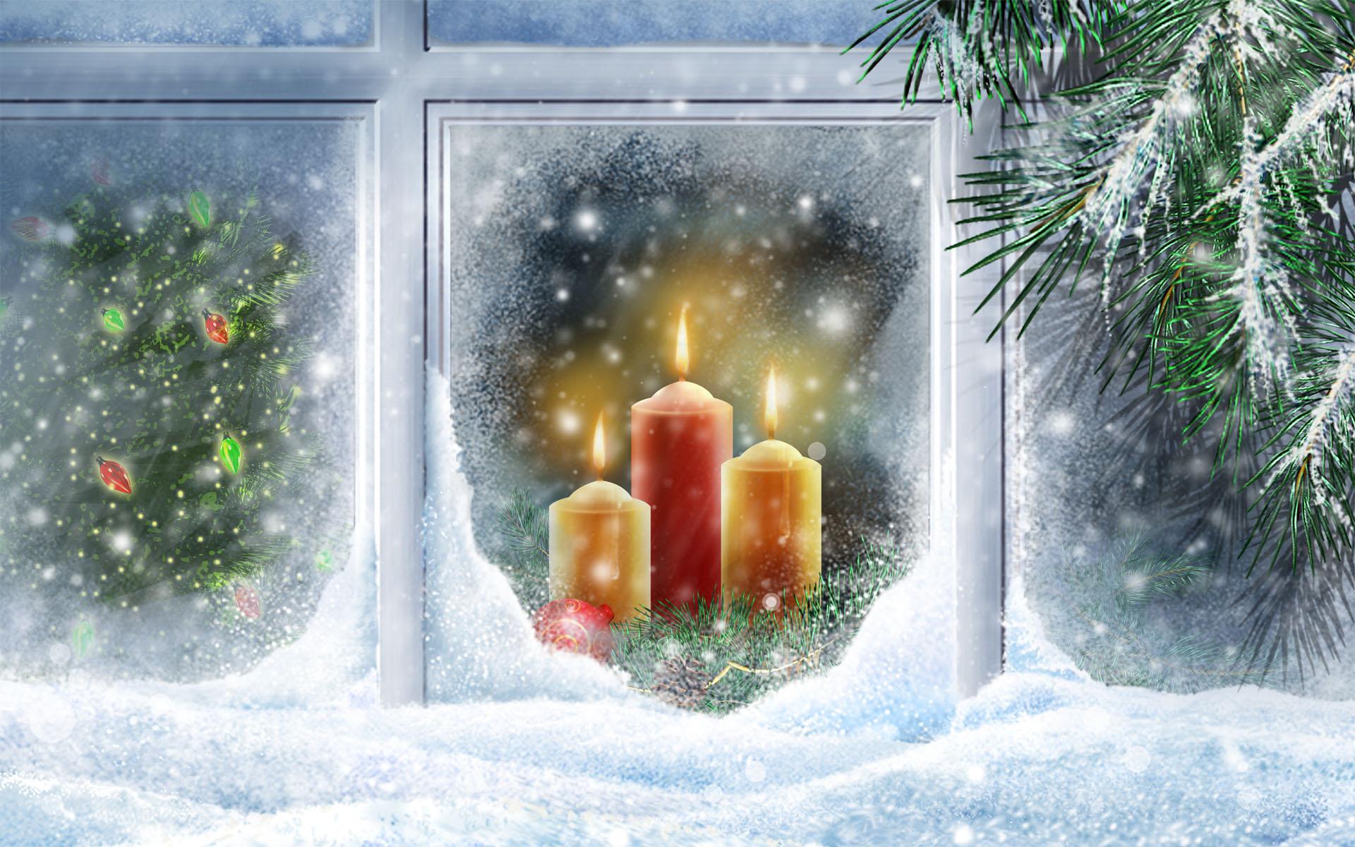 Christmas Lights Widescreen