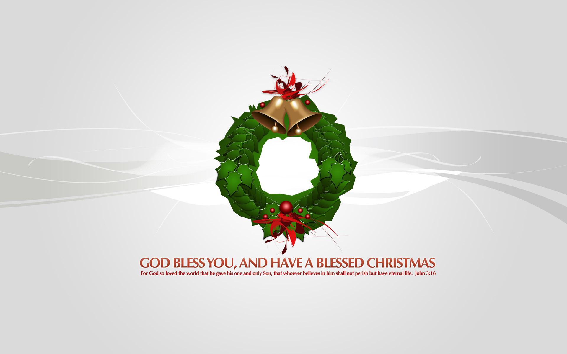 God Bless you Christmas