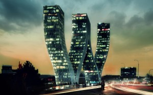 Greatest bending skyscrapers