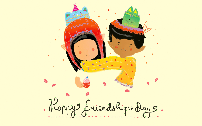 Happy Friendship Day Boy & Girl
