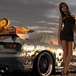 Need for speed prostreet girl