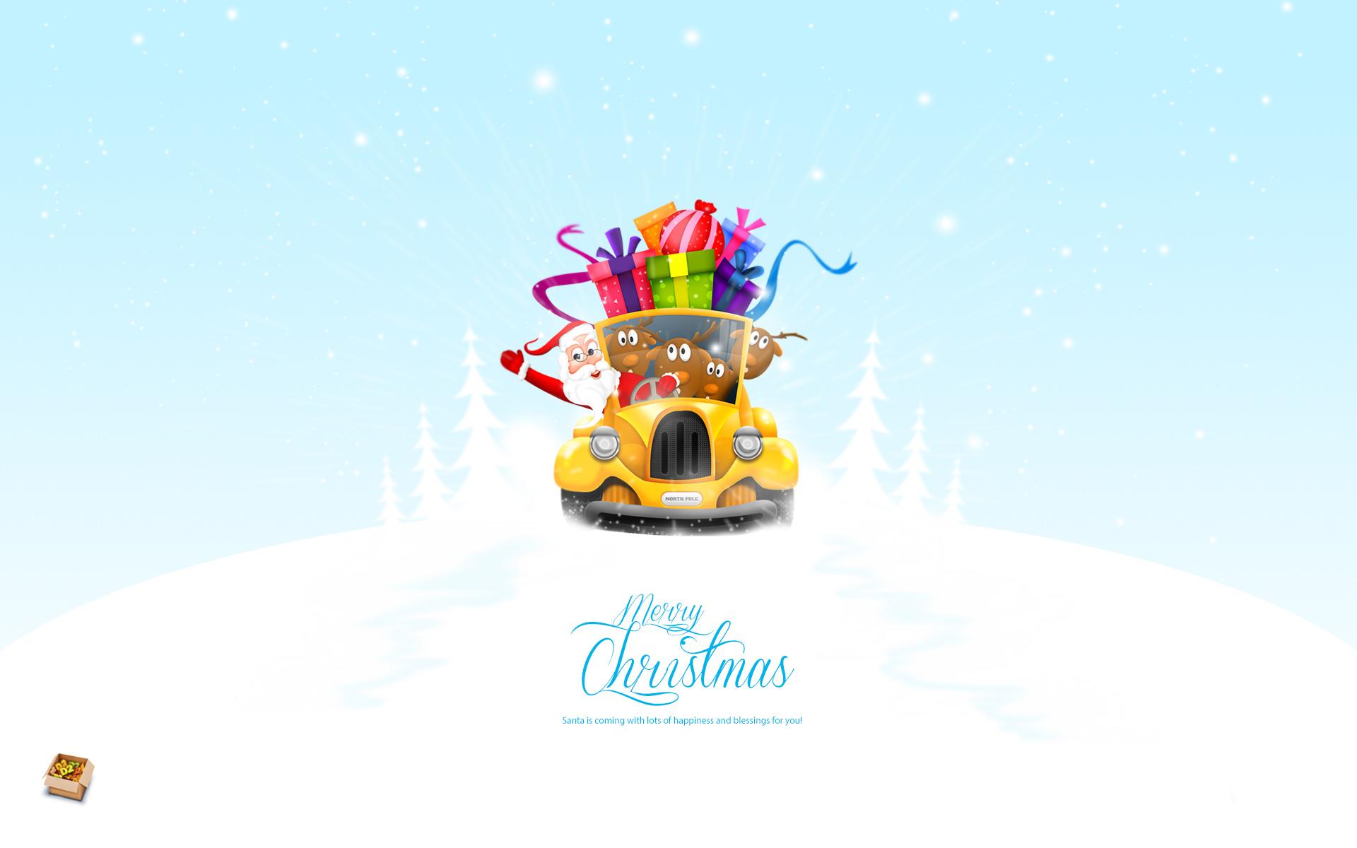 Santa Blessings