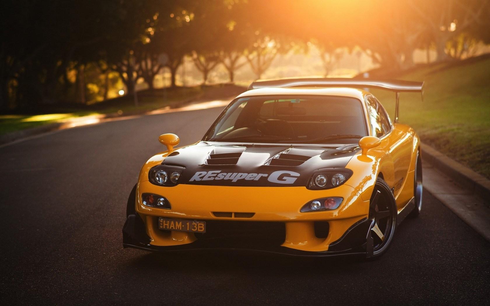 Mazda-rx-drift
