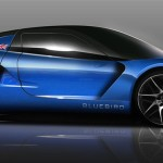 BLuebird new electric car