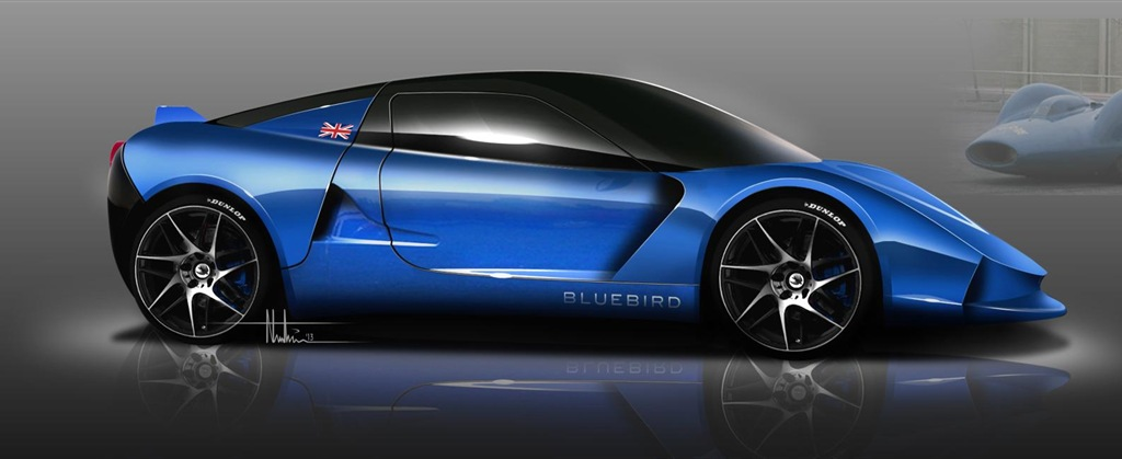 BLuebird new electric car