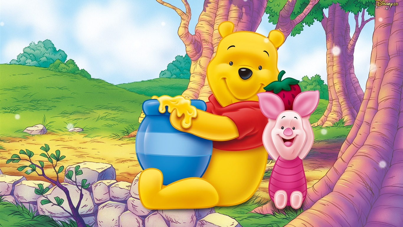 Cartoon Walt Disney Winnie The Pooh