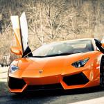 Super Lamborghini Aventador Car